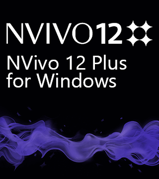 NVivo 12 Plus for Windows 一般用